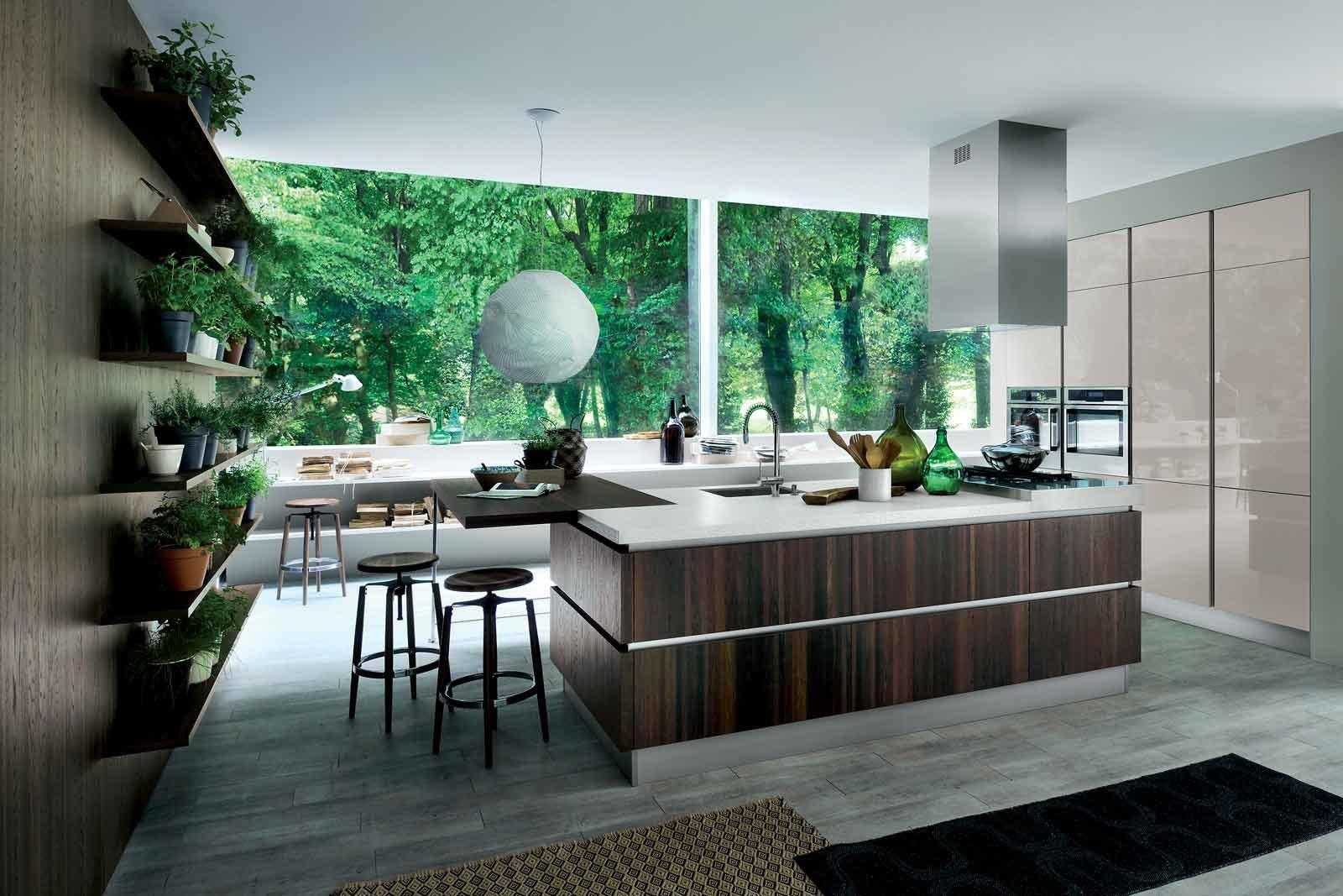 Cucine con elementi a boiserie cose di casa for Piani di casa in stile rambler
