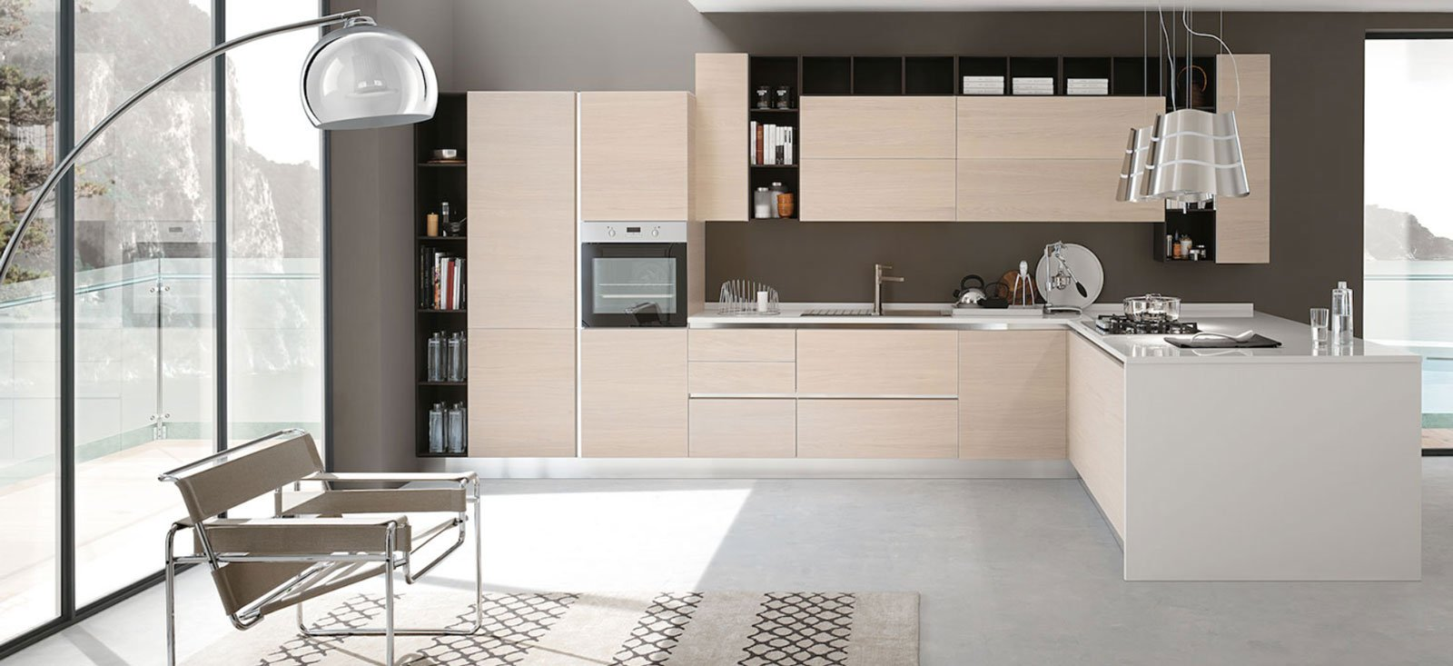 cucina: progettare la disposizione dell'arredo - cose di casa - Cucina Moderna Usata