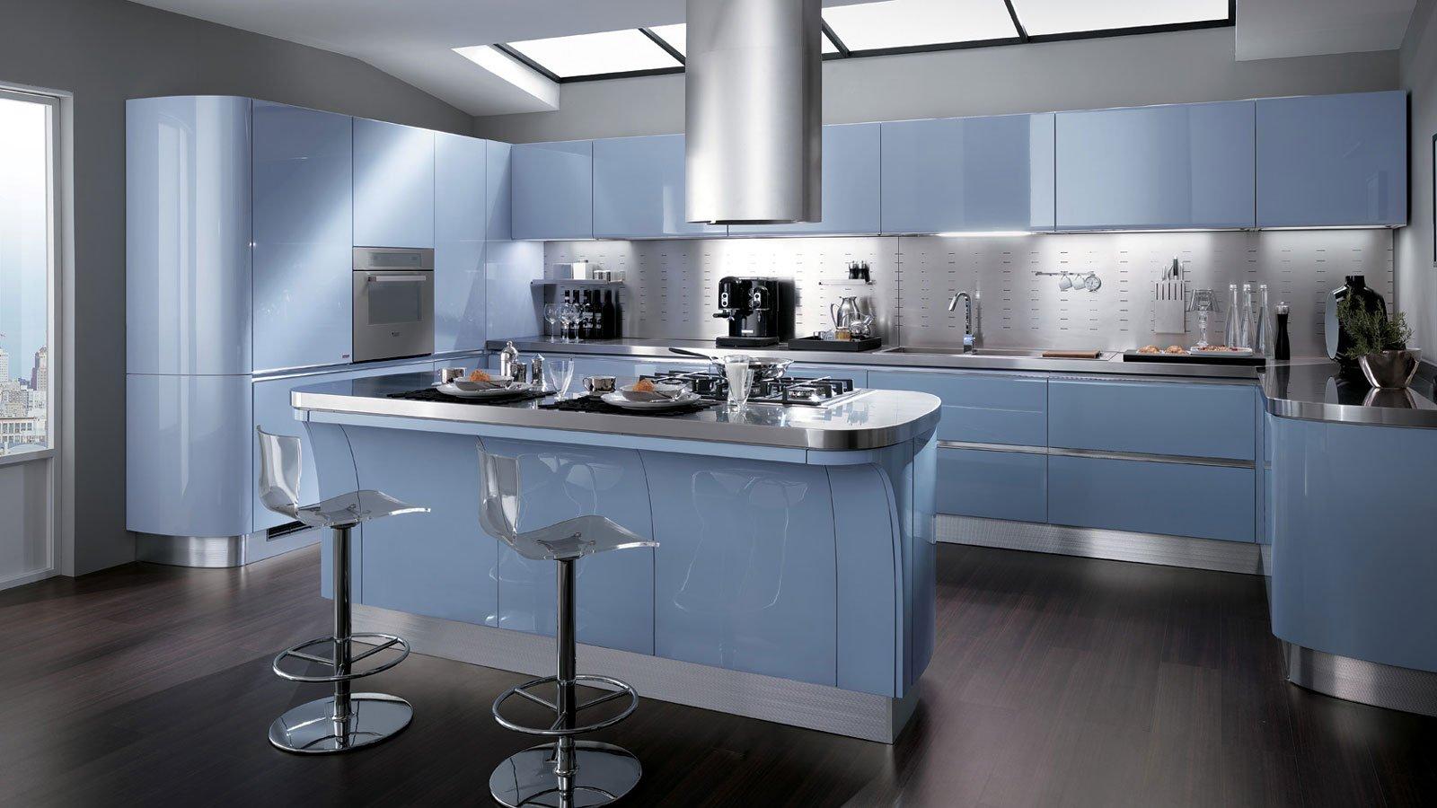 Soluzioni per la mansarda arredo la cucina cose di casa - Cucina scavolini tess ...