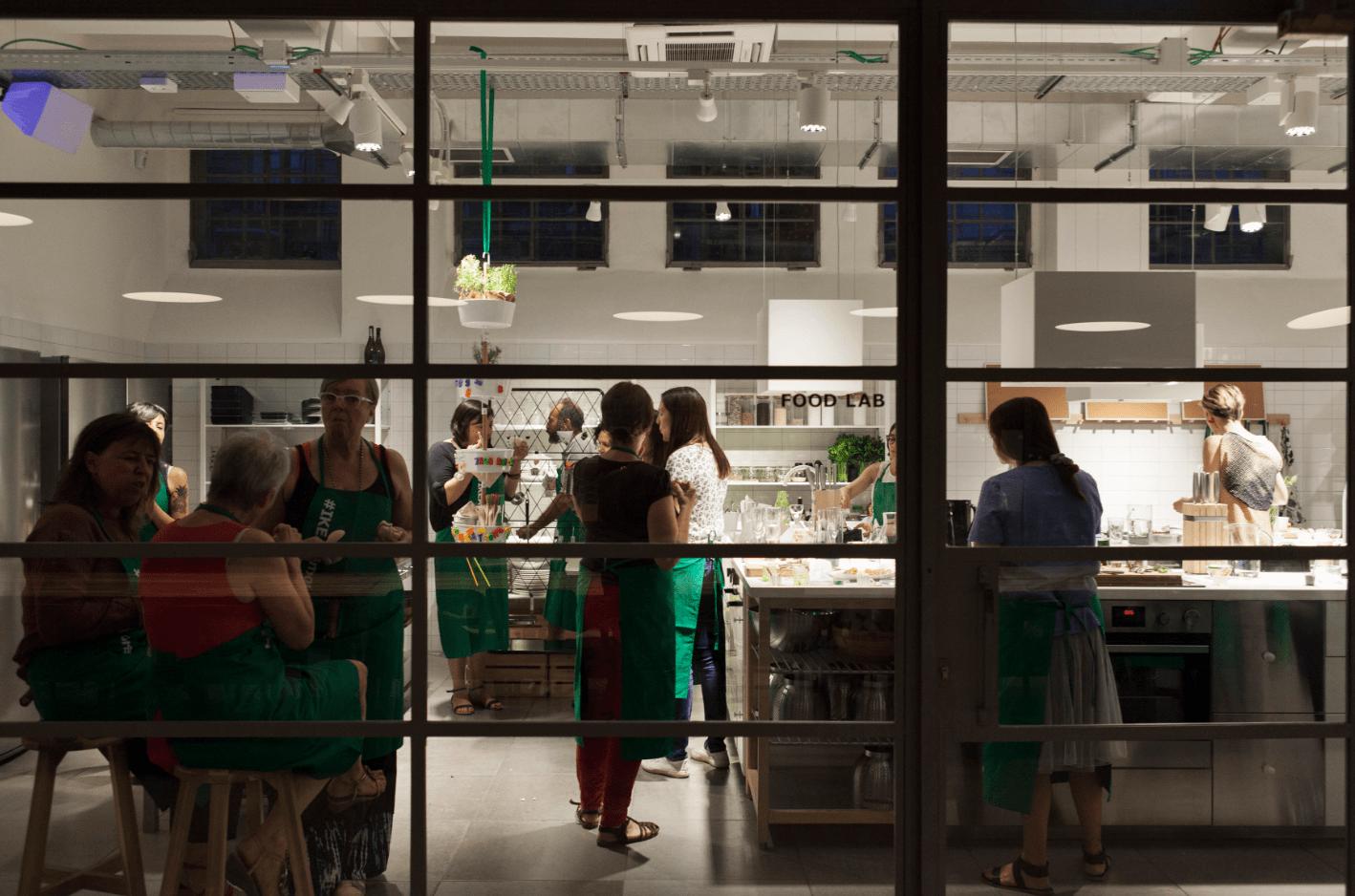 Cibo protagonista: corsi di cucina nel temporary Ikea - Cose di Casa