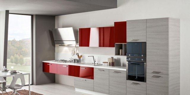 Cucine piccole: composizioni compatte anche per il soggiorno - Cose ...