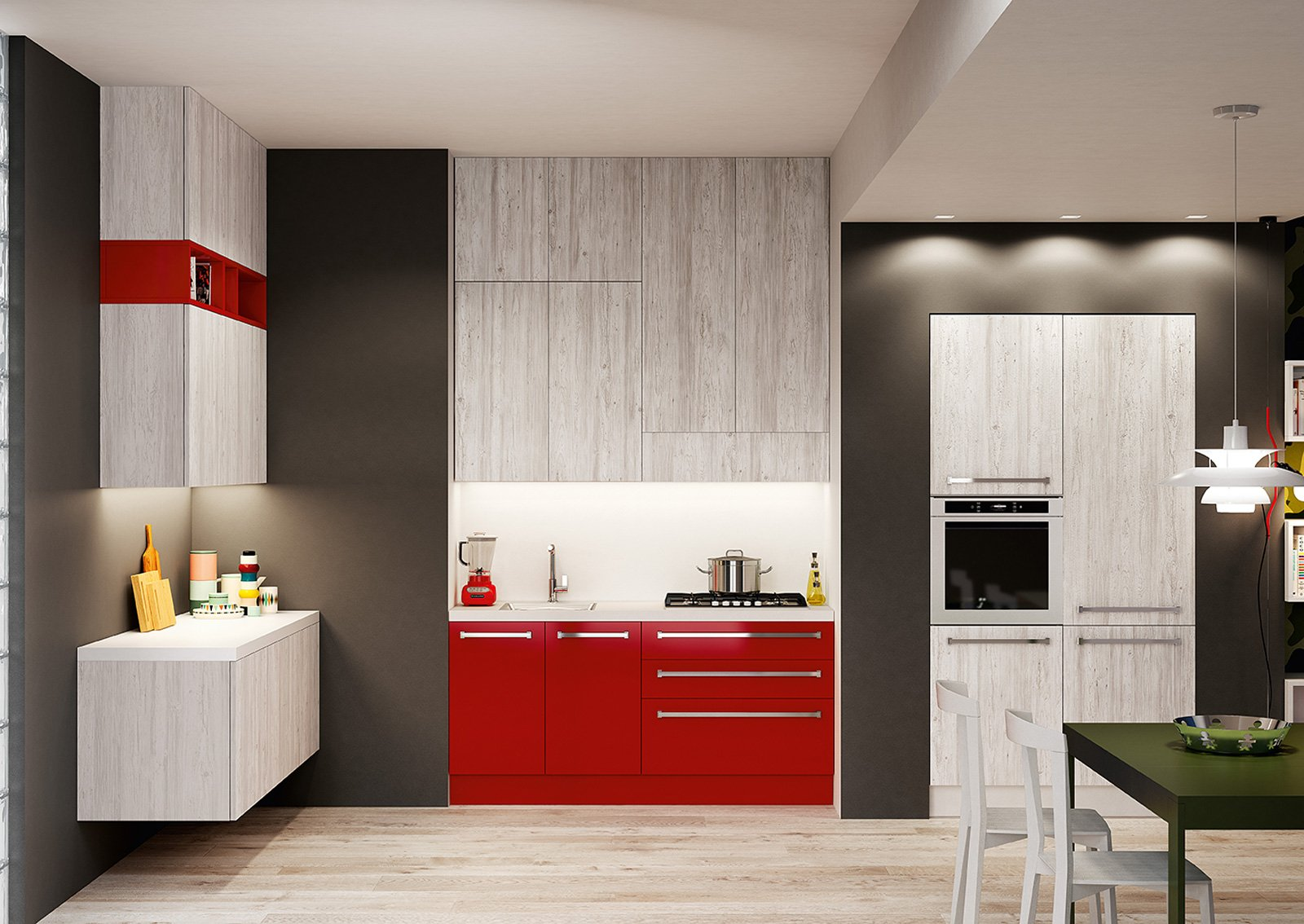 Piccole Cucine Moderne. Perfect Piccole Cucine Funzionali E ...