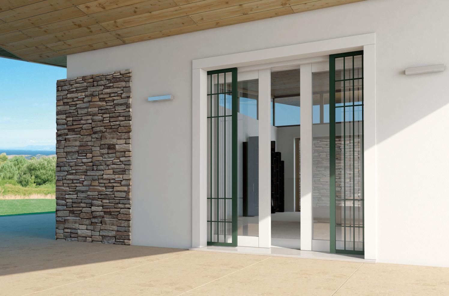 Porte e finestre di sicurezza casa protetta anche durante - Inferriata porta ...