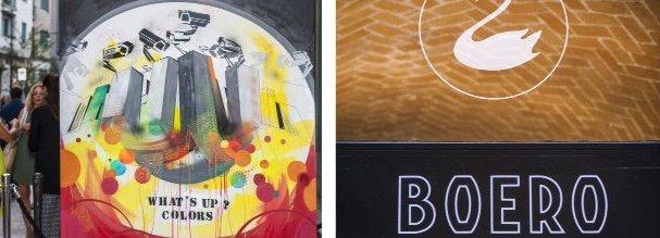 """""""Il Colore e la Città"""" nella street art"""