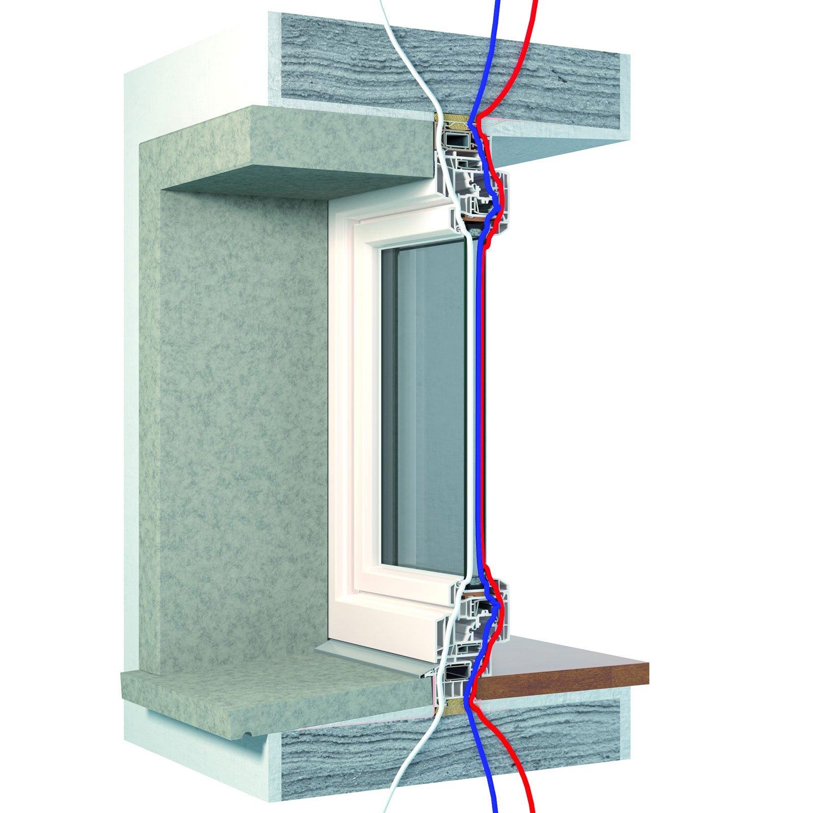 La posa in opera dei serramenti a regola d arte cose di casa - Montaggio finestre pvc ...