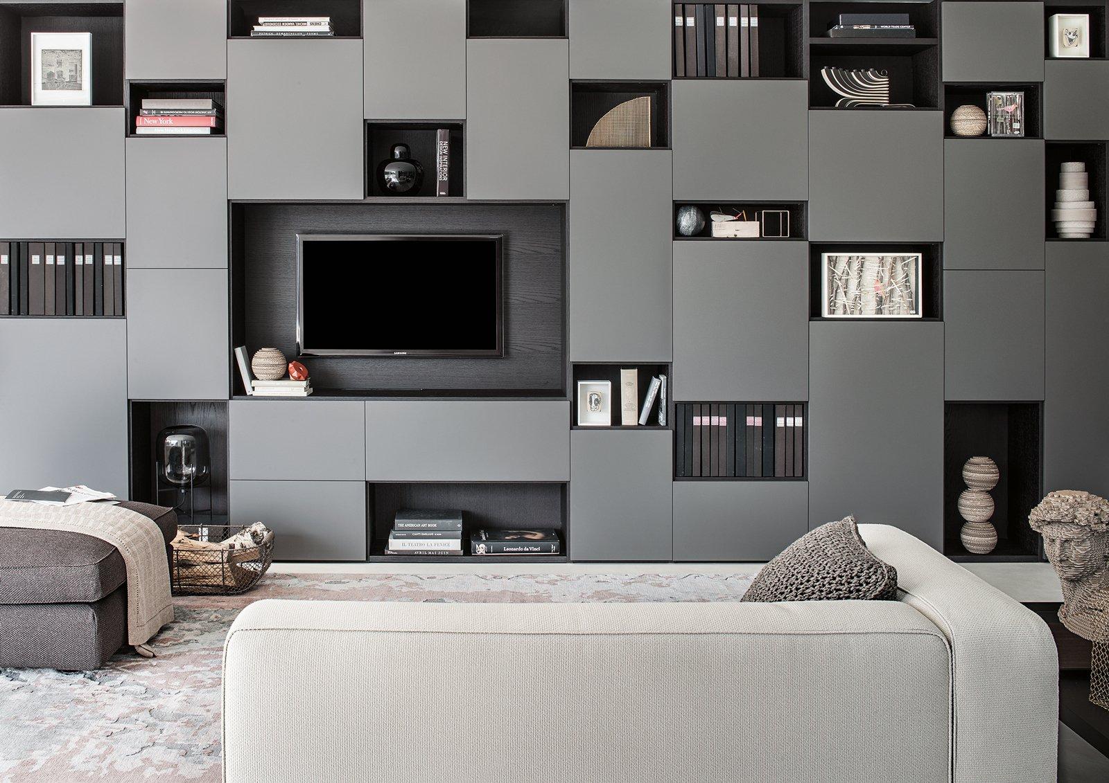 Arredare il soggiorno: quale spazio per la tv? - Cose di Casa