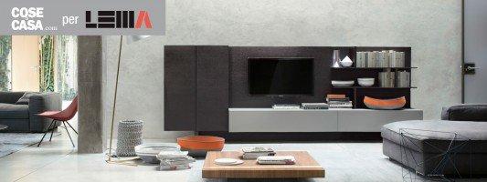 Lema arredamento casa mobili e collezioni for Mobili lema soggiorno