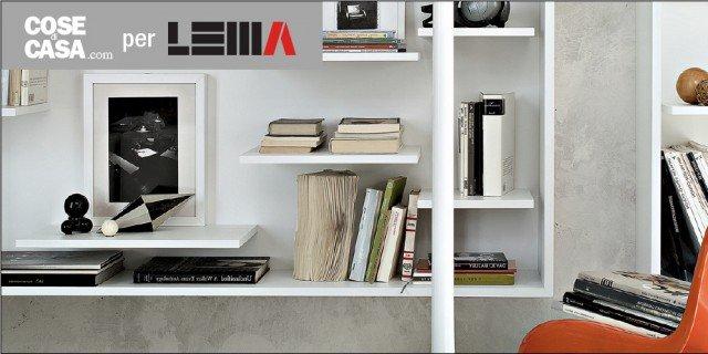 Librerie piccole cos ogni spazio pu essere sfruttato al for Librerie piccole dimensioni