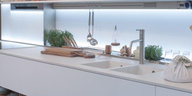 Lavello Cucina Arredamento.Il Lavello Integrato Nel Top C E Ma Quasi Non Si Vede