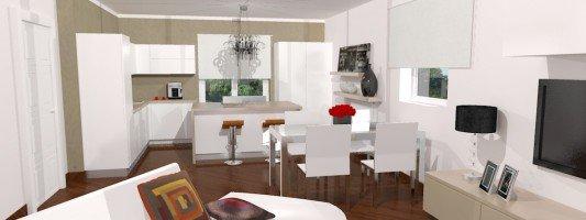 Risposte e soluzioni cose di casa - Cucina aperta sul soggiorno ...