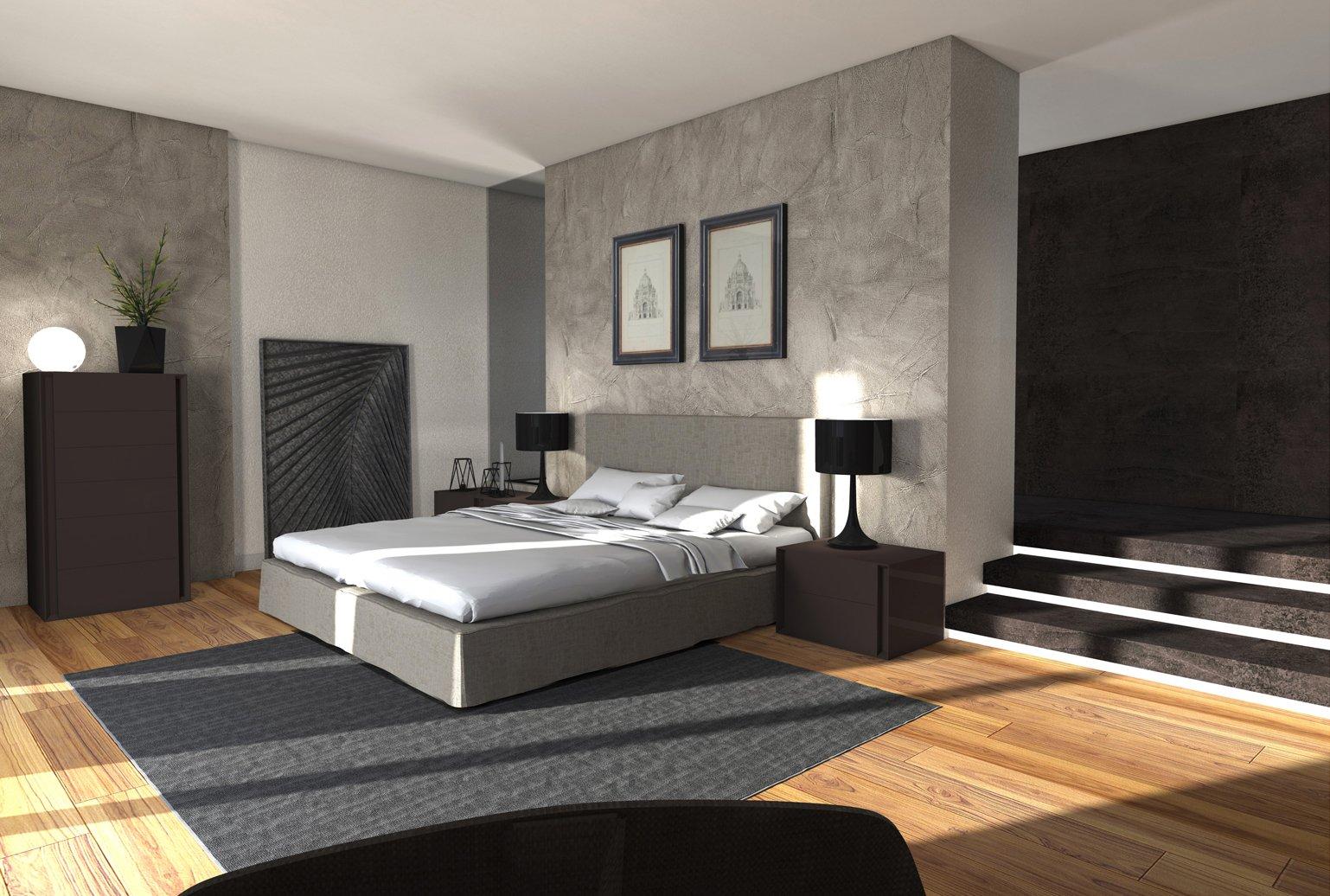 Arredare la camera un progetto dal design discreto e - Altezza armadio camera da letto ...