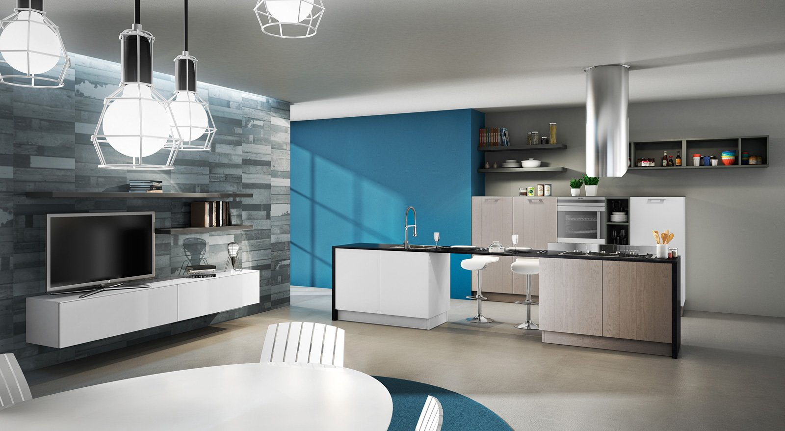 Cucine piccole : cucine soggiorno piccole. cucine piccole per ...