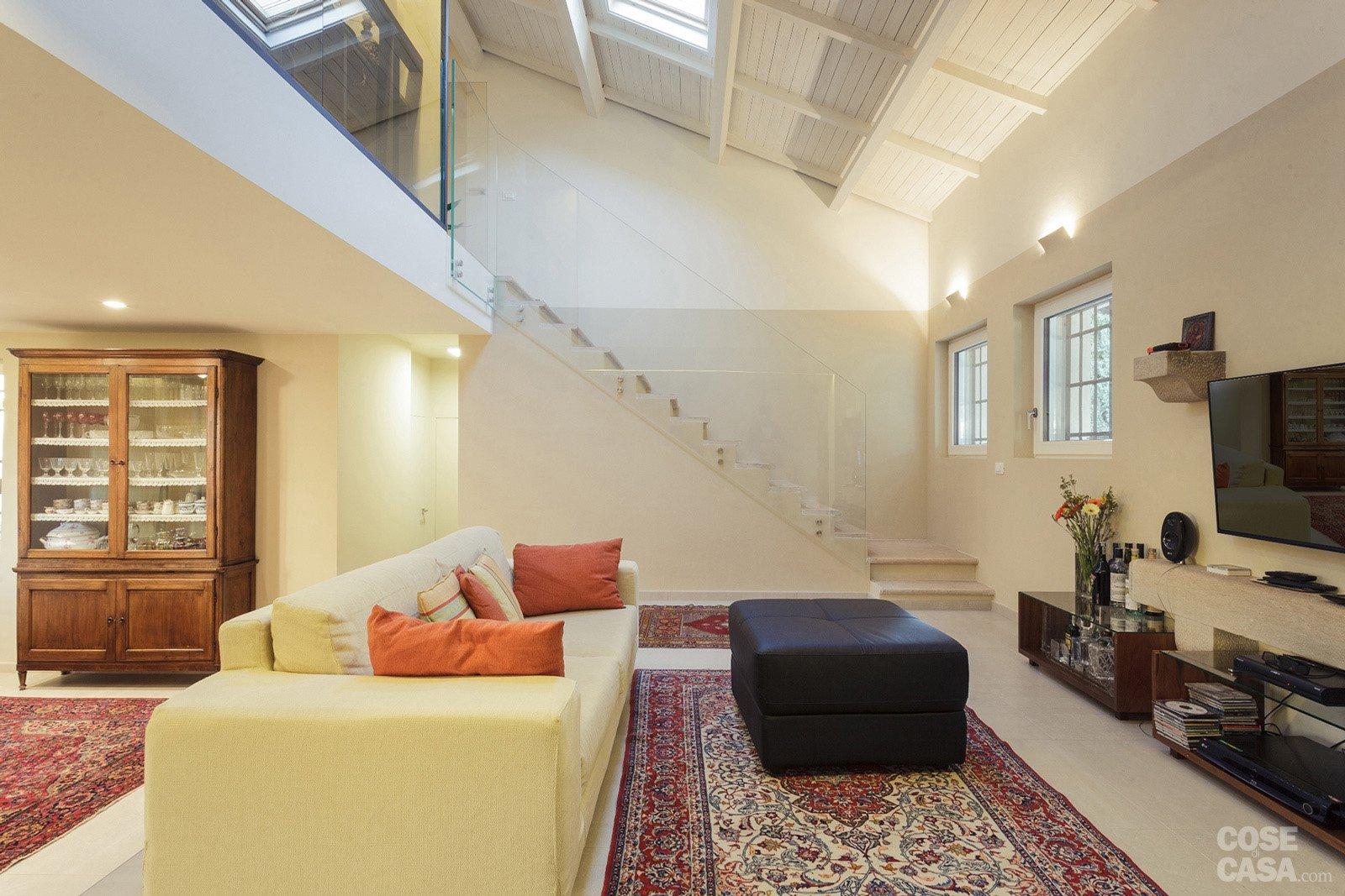 Una casa ristrutturata per il risparmio energetico cose for Registrare i piani di casa con soppalco