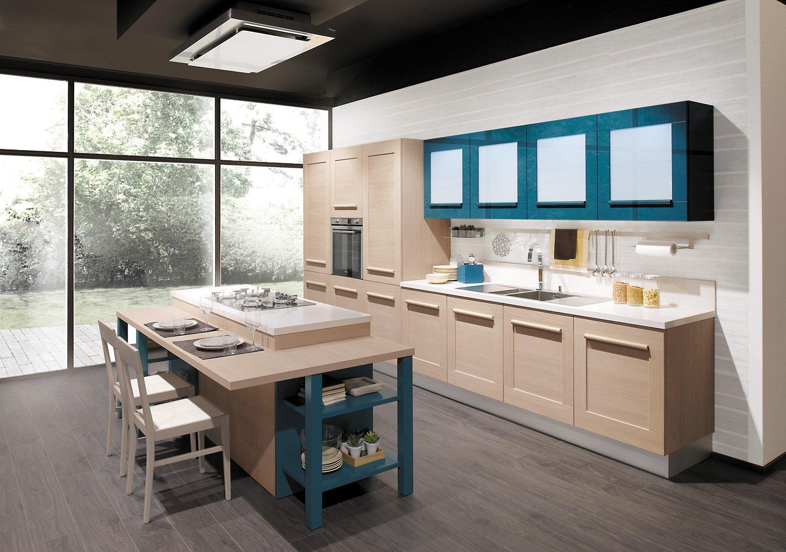 Cucine Bicolore Lalternanza Cromatica Fa Tendenza Cose Di Casa