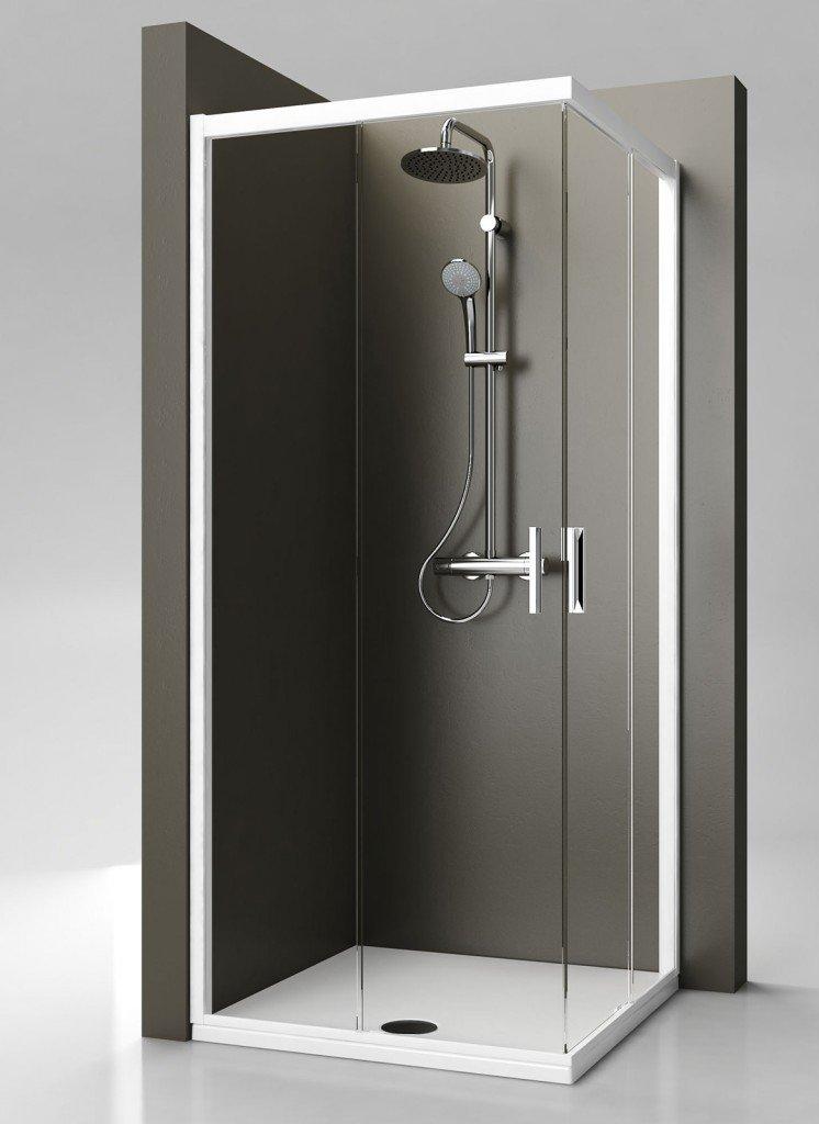 Docce rettangolari piccole cose di casa - Dimensioni doccia standard ...