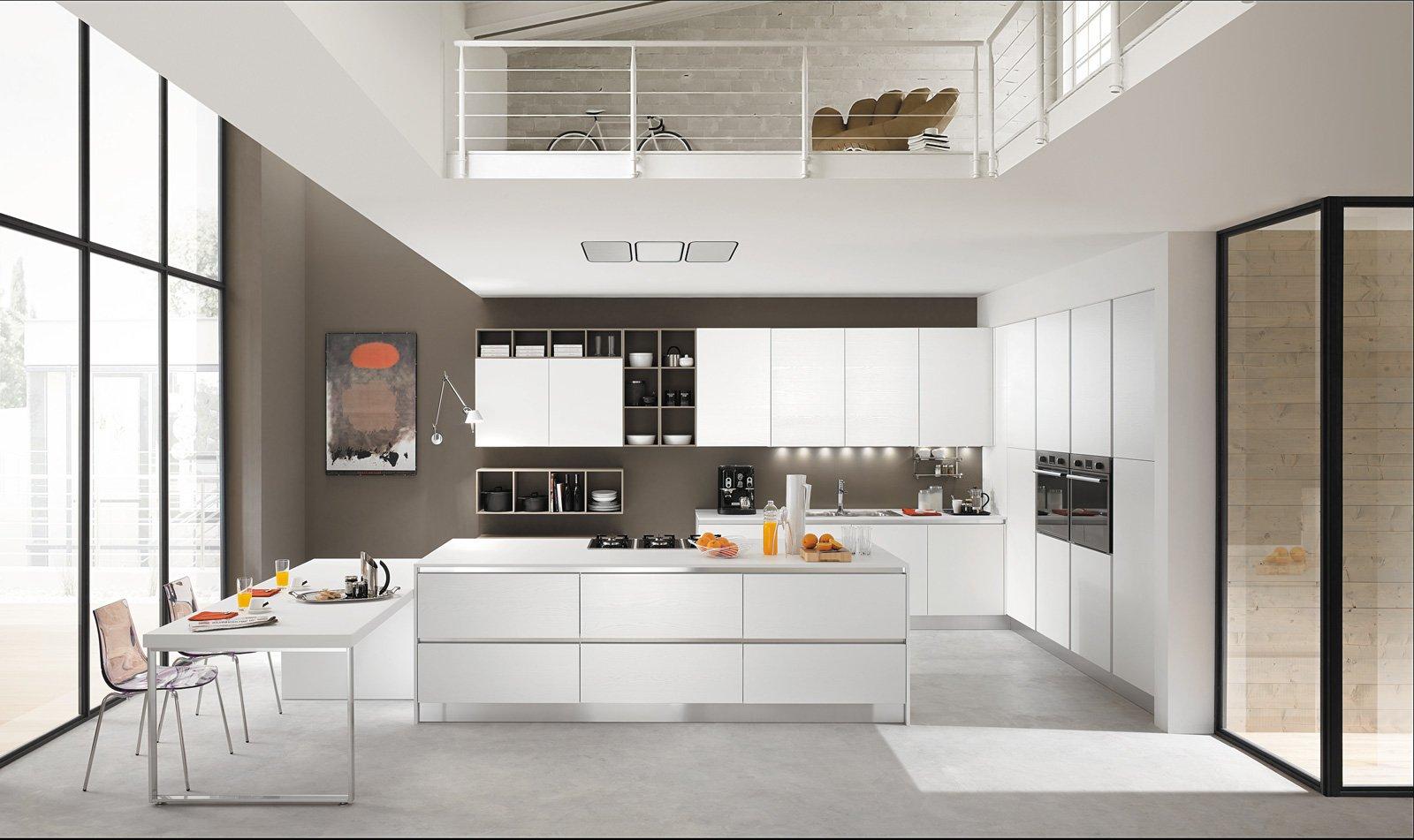 2 mobilturi vela cucina bianca cose di casa - Cucine bianche e legno ...
