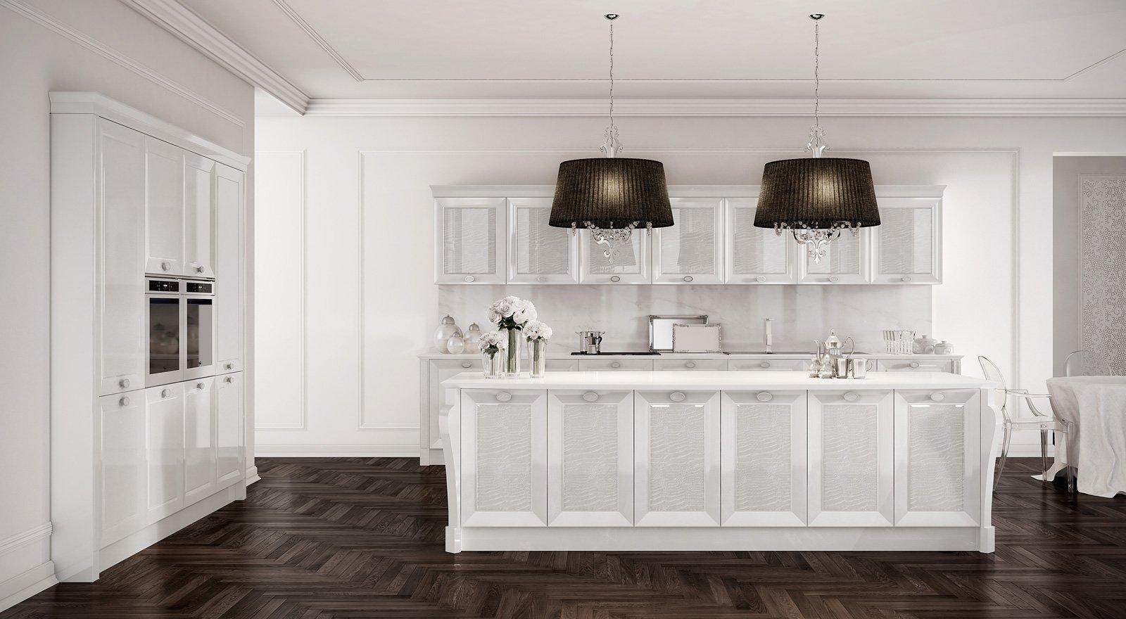 Cucine bianche: e la stanza sembra più grande e luminosa - Cose di ...