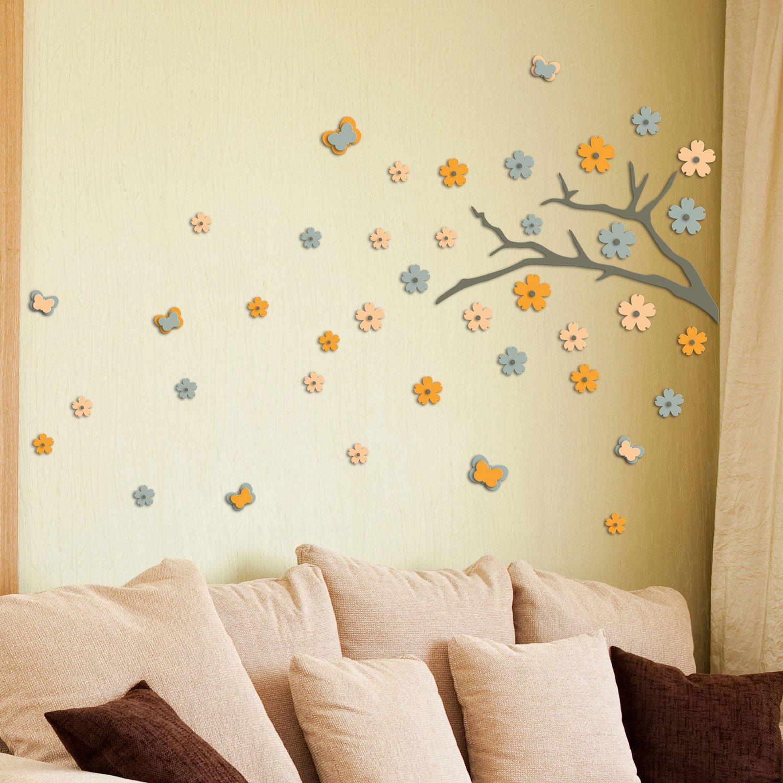 Decorare la parete con profili fregi stickers cose di casa - Leroy merlin decorazioni murali ...