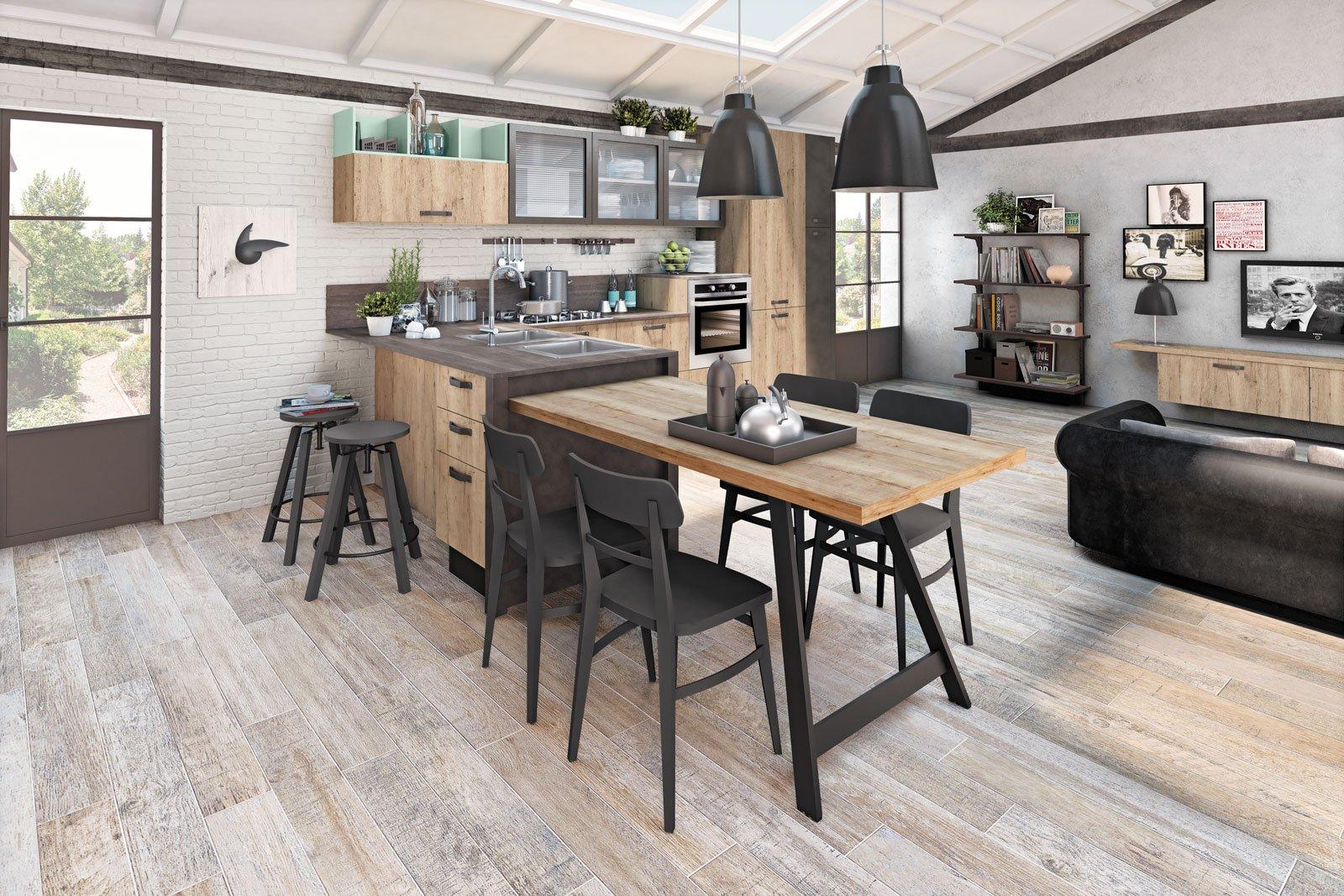 Arredamento cucine piccole cose di casa - Cucine con panca ...