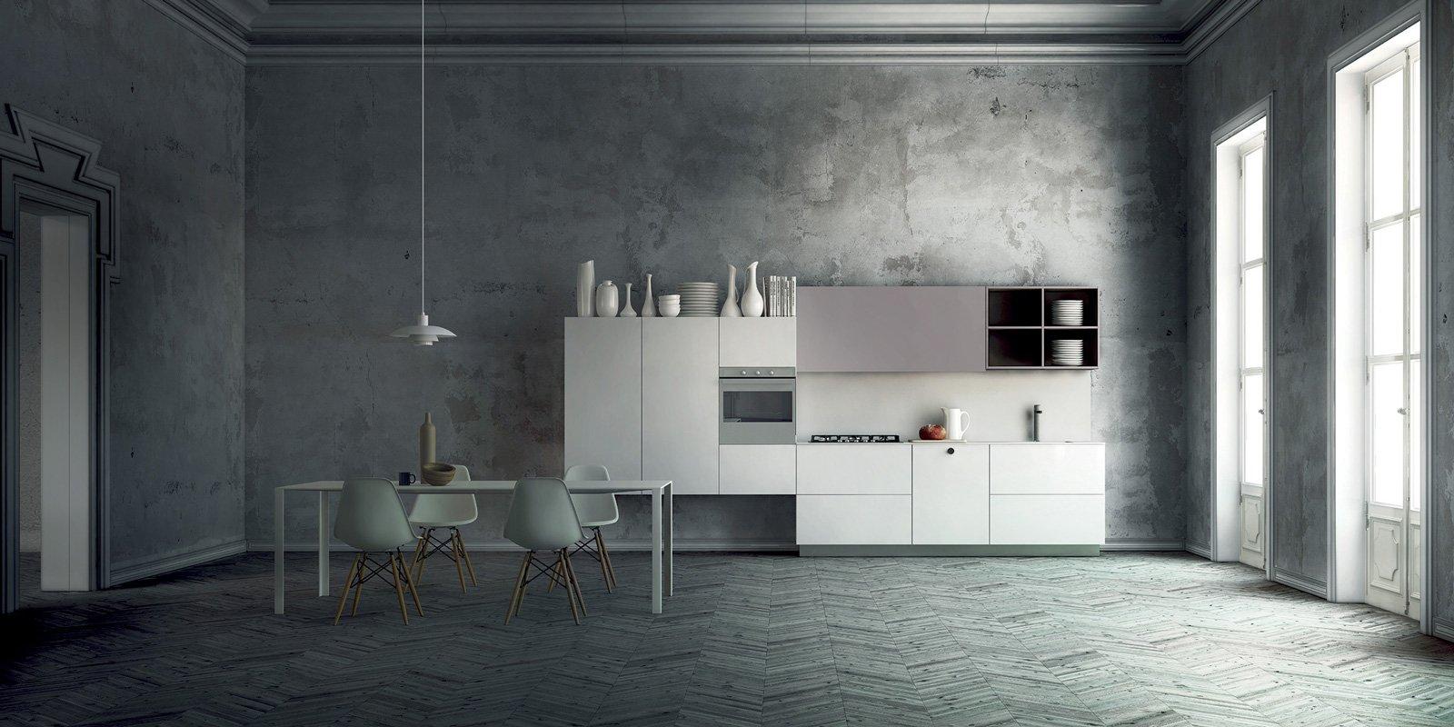 Cucine laccate bianche cool cucine bianche with cucine laccate bianche fabulous scenery with - Schmidt cucine torino ...