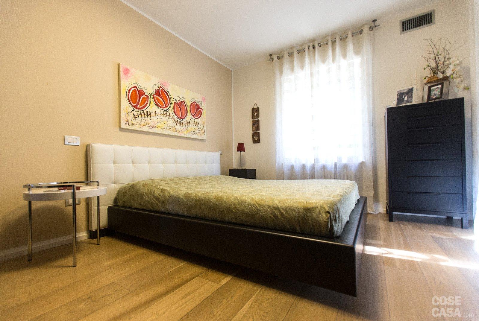 Colore Pareti Camera Da Letto Con Mobili Scuri : Mq una casa con pareti d effetto cose di