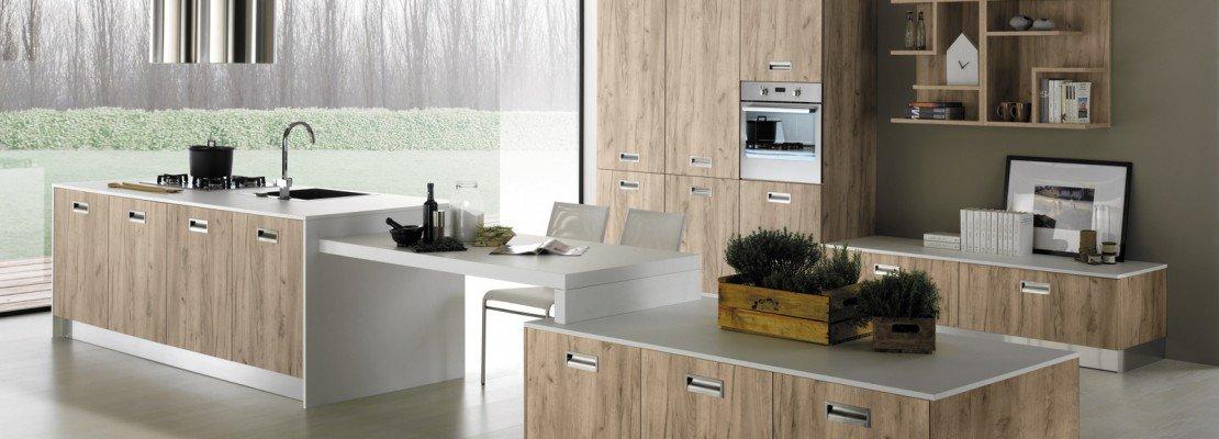 Cucine a vista per il loft nel soggiorno open space for Case ristrutturate interni