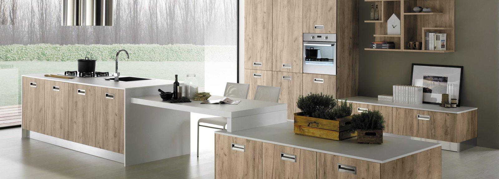 Cucine a vista per il loft nel soggiorno open space cose di casa - Open space cucina soggiorno ...