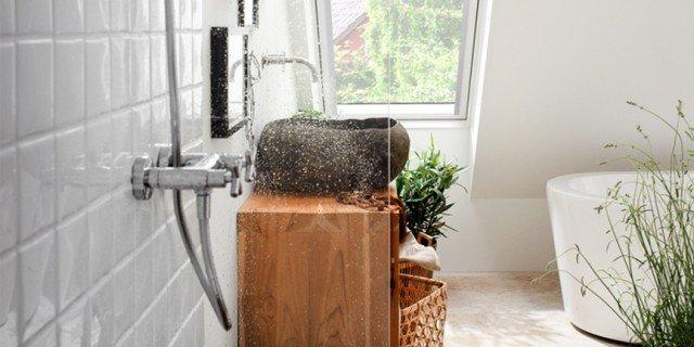 Il bagno in mansarda cose di casa - Bagno nel sottotetto ...