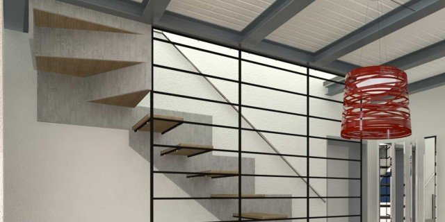 Progetto in pianta e 3d della casa su 3 livelli cose di casa for Piani casa costruiti per una vista