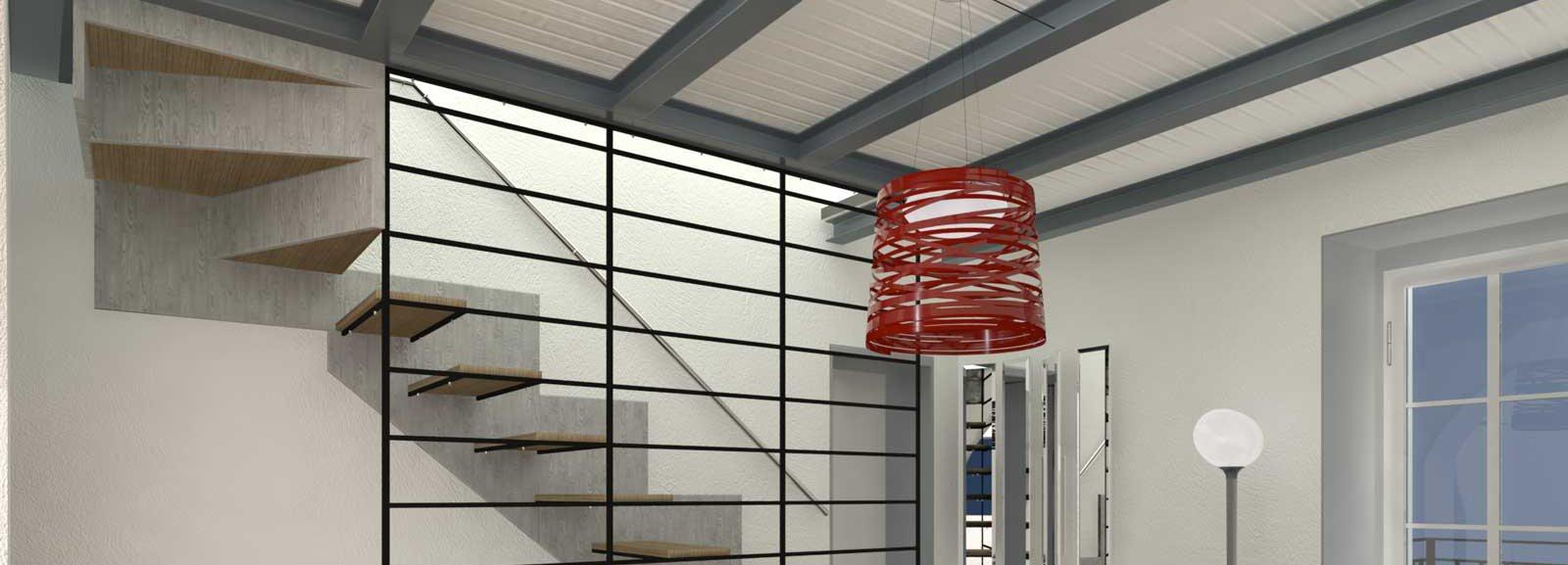 Progetto in pianta e 3d della casa su 3 livelli cose di casa for Disposizione della casa 3d