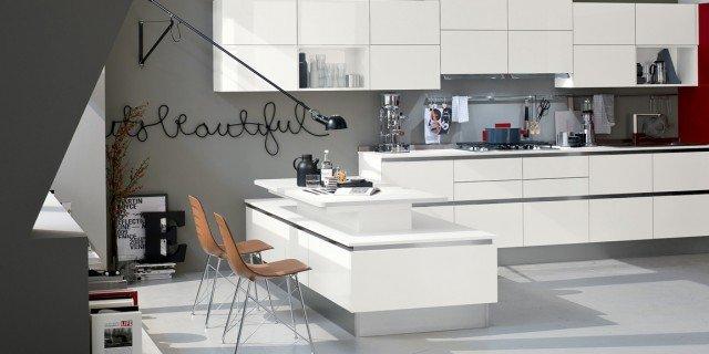 Cucine bicolore: l\'alternanza cromatica fa tendenza - Cose ...
