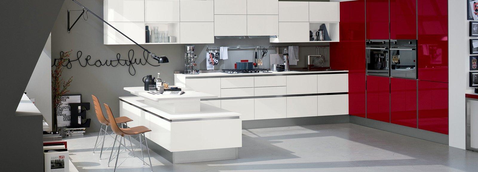 Cucine bicolore l 39 alternanza cromatica fa tendenza cose - Cucine bicolore moderne ...