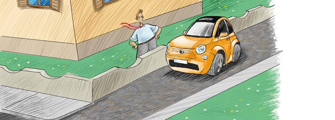 Diritto di passaggio su strada privata confortevole - Servitu di passaggio manutenzione ...
