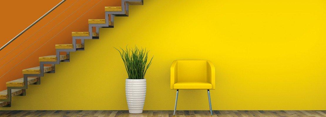 Pitture murali per decorare le pareti cose di casa - Tecnica per decorare pareti ...