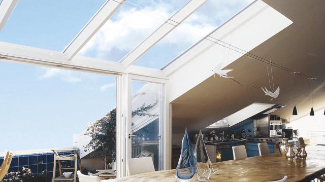 Coperture per verande cose di casa for Velux tetto in legno