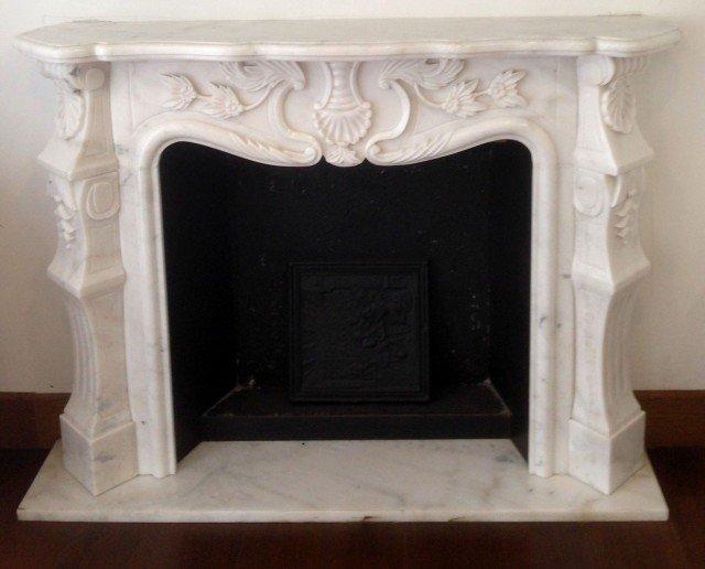 camini Michelangelo di Maro Cristiani è realizzata in marmo bianco ...
