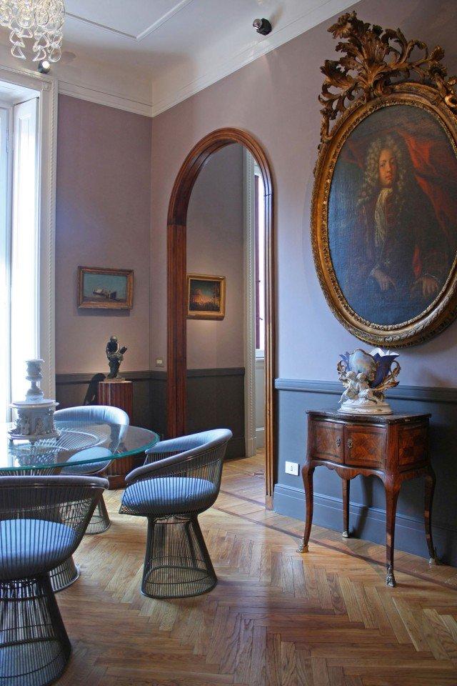 Immagine di interno progettatodagli architetti Emanuela Bandirolie Marco Cortesia dello Studio BC architettiassociati.