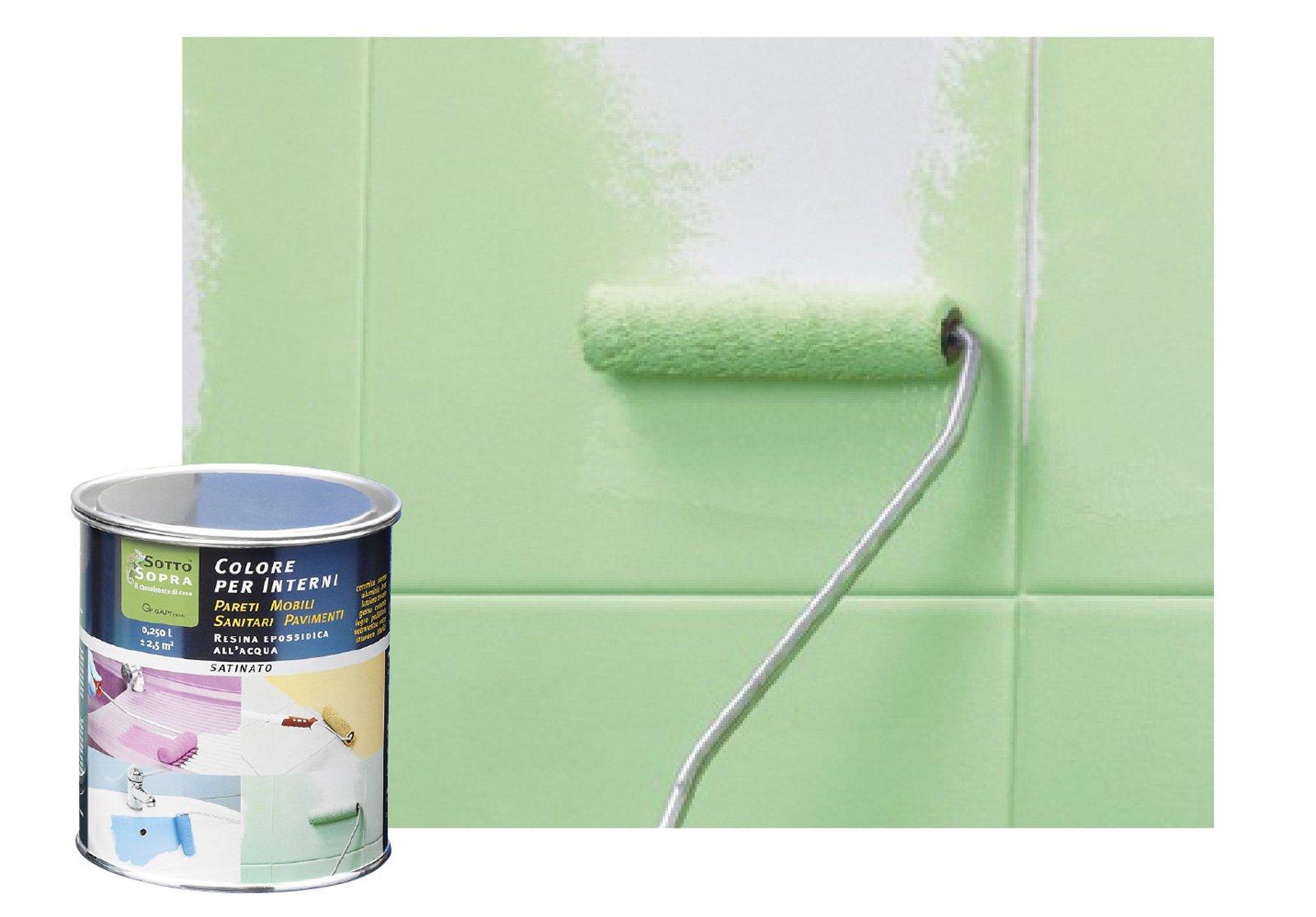 Pitture murali per decorare le pareti cose di casa for Resina epossidica trasparente leroy merlin