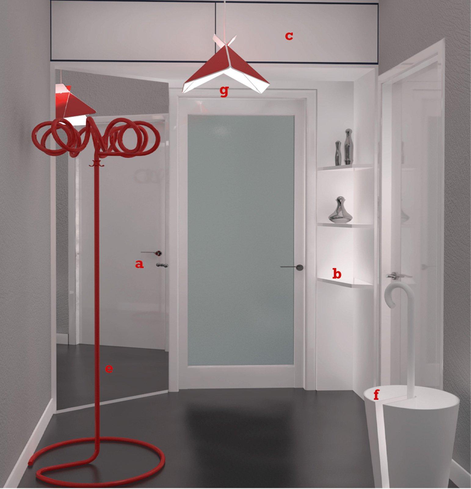 Appendiabiti Da Ingresso Chiuso arredare l'ingresso a seconda della forma - cose di casa