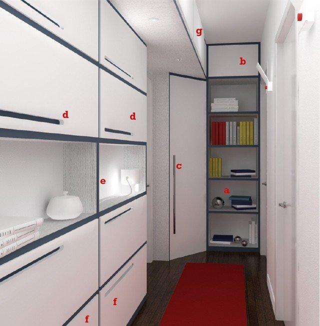 Arredare l 39 ingresso a seconda della forma cose di casa - Mobili per corridoio stretto ...