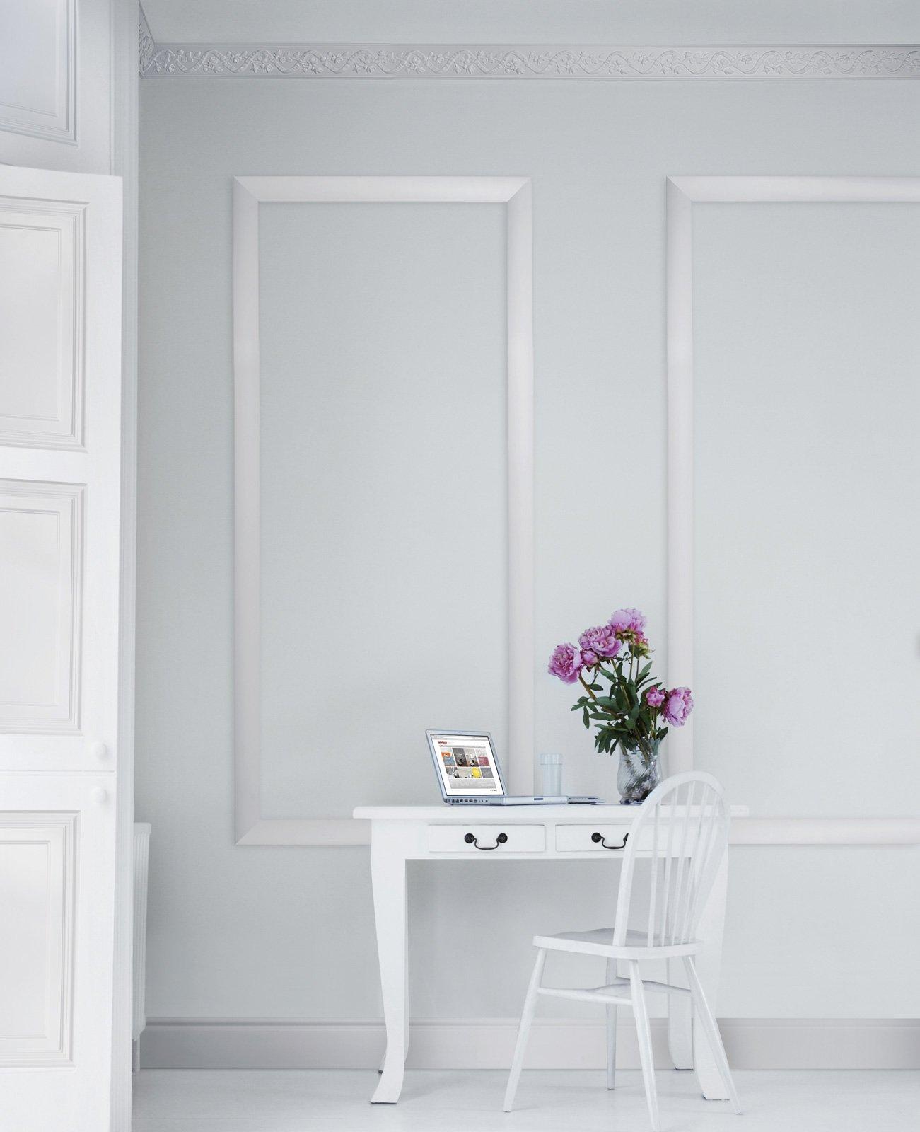 Decorare la parete con profili, fregi, stickers   cose di casa