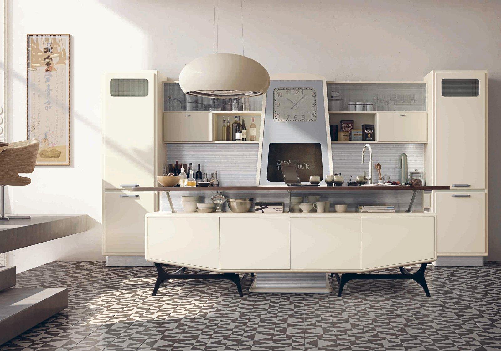 tanto bianco e la cucina raddoppia visivamente - cose di casa - Marchi Di Cucine