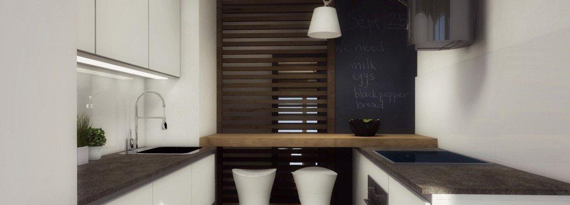 Arredamento cucine piccole un progetto per meno di 6 mq for Cucine piccole dimensioni