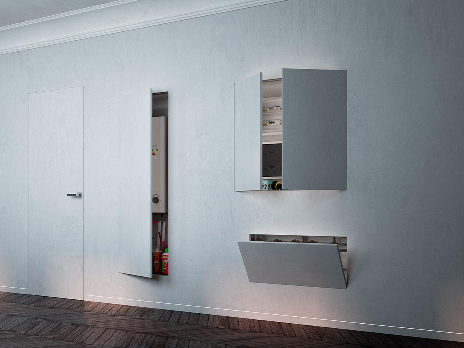 Sfruttare bene lo spazio con porte e contenitori a - Porta a scomparsa cartongesso ...