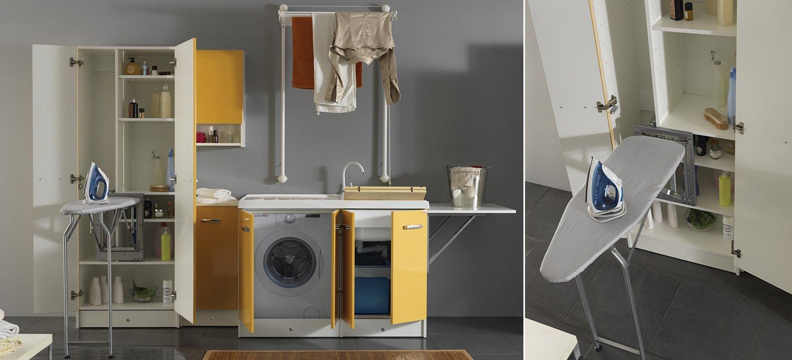 Lavanderia stireria tutto quel che serve cose di casa - Arredo per lavanderia di casa ...