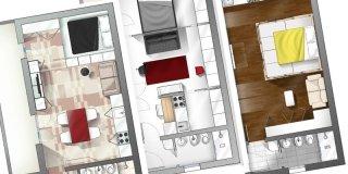 Cose di Casa di ottobre 2015: 3 soluzioni per il monolocale
