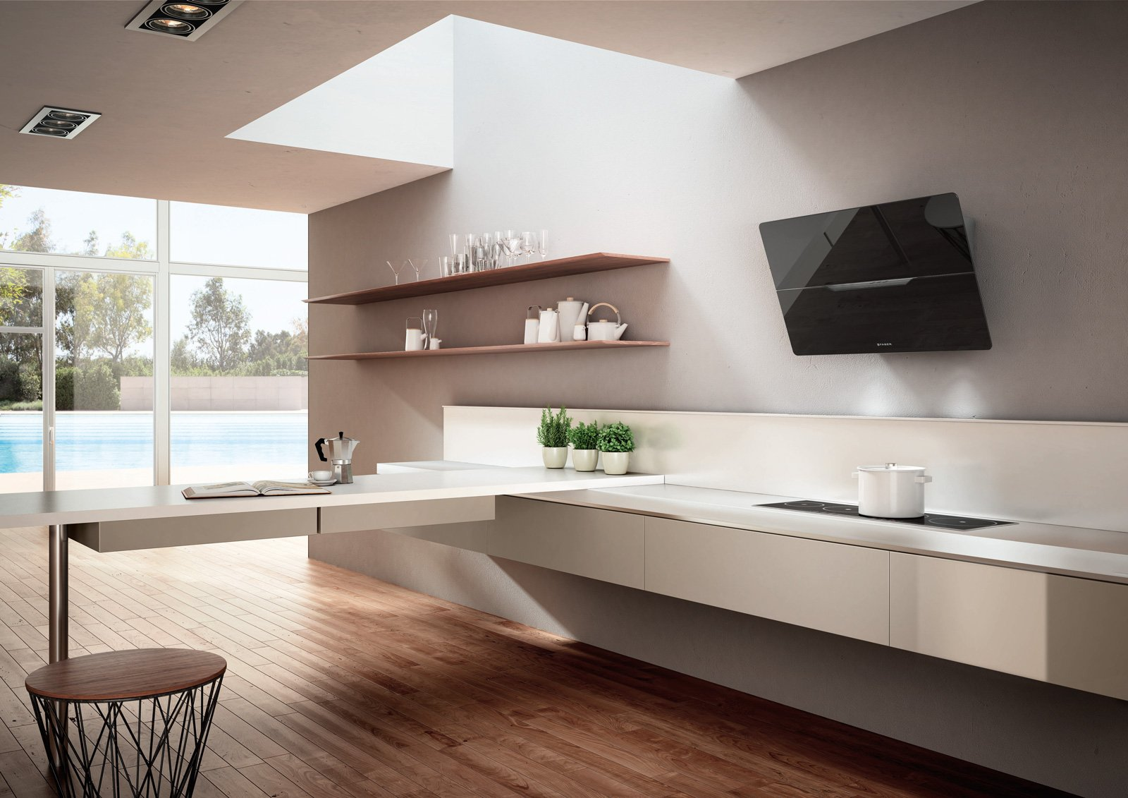 Cappe silenziose per la cucina cose di casa - Cappa di aspirazione cucina ...