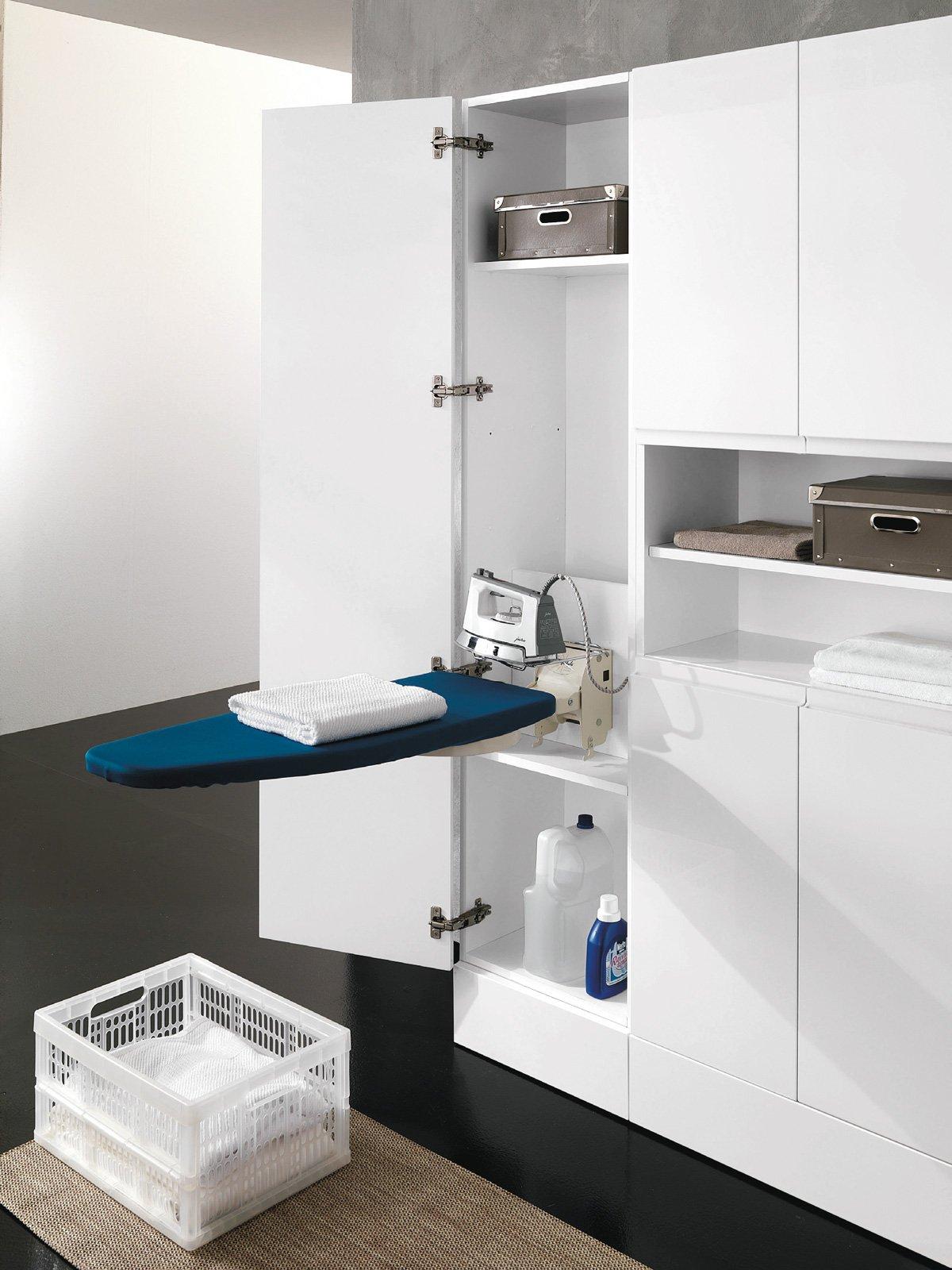 Lavanderia stireria tutto quel che serve cose di casa - Asse da stiro da parete ...