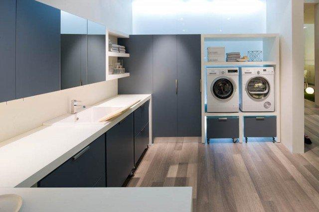 Lavanderia stireria tutto quel che serve cose di casa - Mobile porta lavatrice e asciugatrice leroy merlin ...