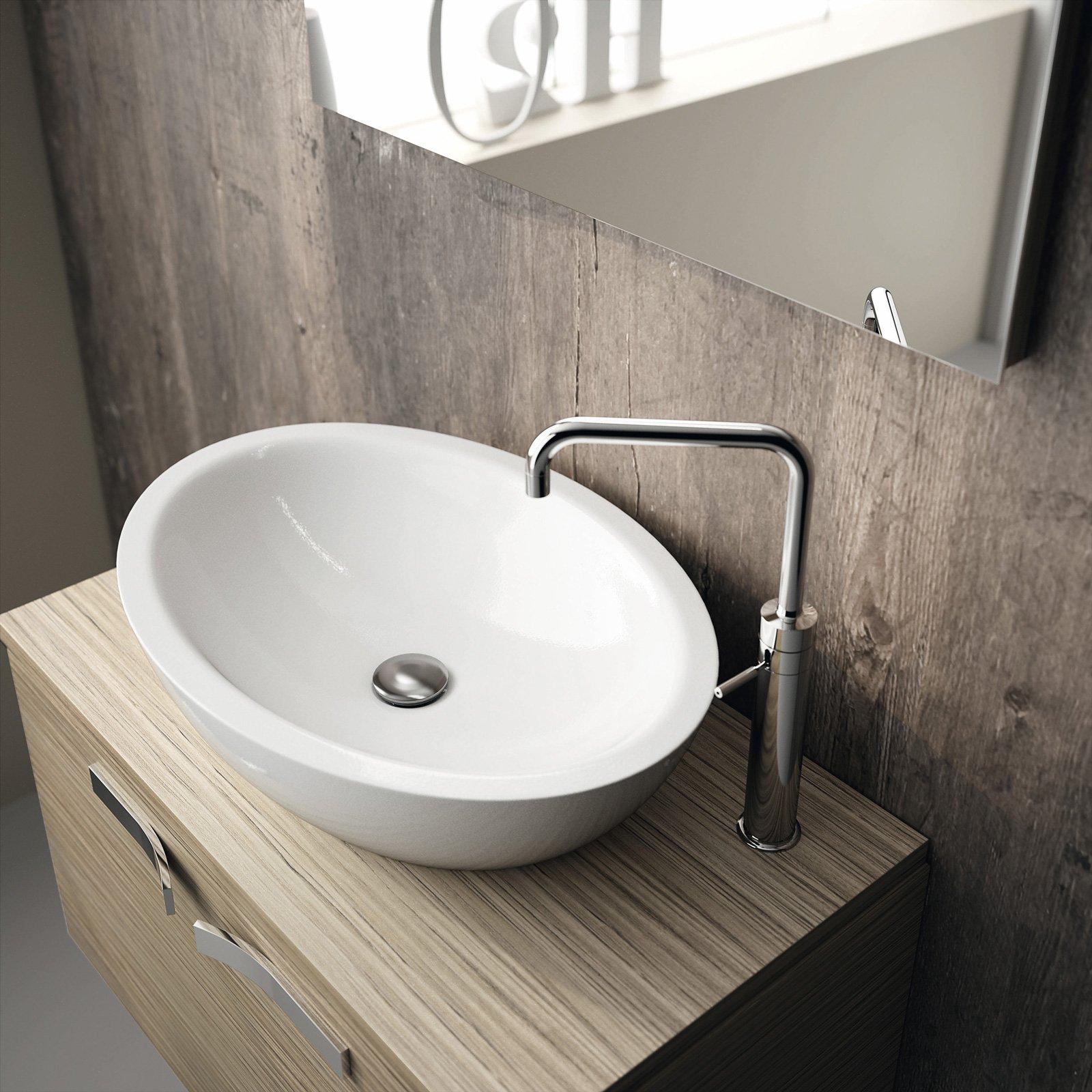 Cersaie 2015 materiali e forme per il bagno cose di casa for Prezzi lavabo bagno